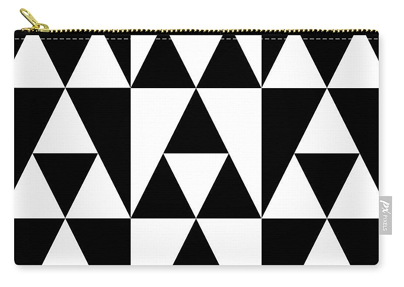 Abstract Carry-all Pouch featuring the photograph T S 19 by Mike McGlothlen