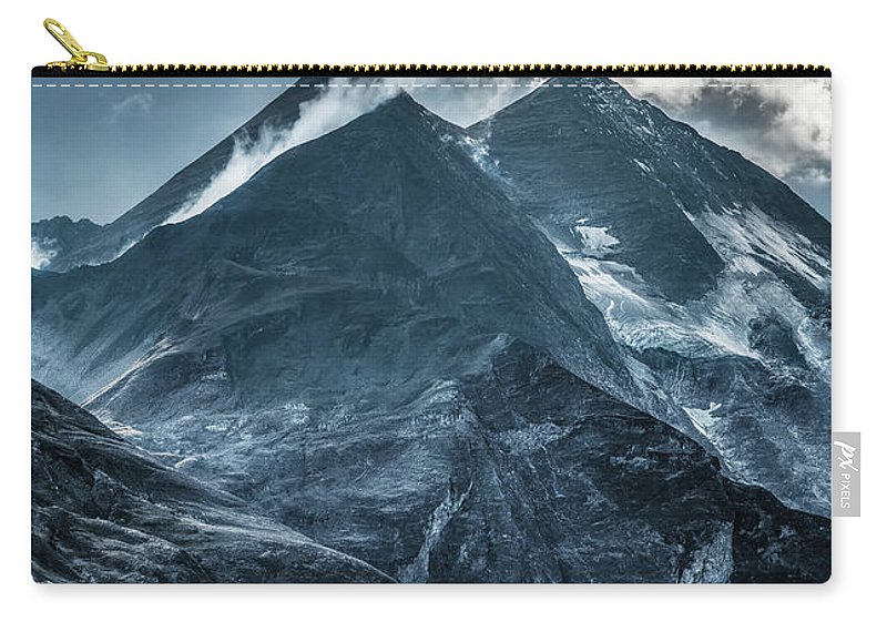 Mountain Carry-all Pouch featuring the photograph When The New Day Begins by Jaroslaw Blaminsky