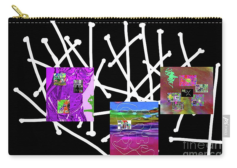 Walter Paul Bebirian Carry-all Pouch featuring the digital art 10-22-2015bab by Walter Paul Bebirian