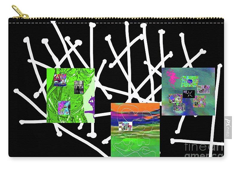 Walter Paul Bebirian Carry-all Pouch featuring the digital art 10-22-2015babcdefghijklmnopqrtuv by Walter Paul Bebirian