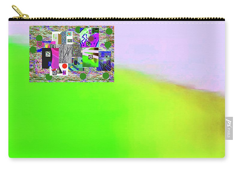Walter Paul Bebirian Carry-all Pouch featuring the digital art 10-31-2015a by Walter Paul Bebirian
