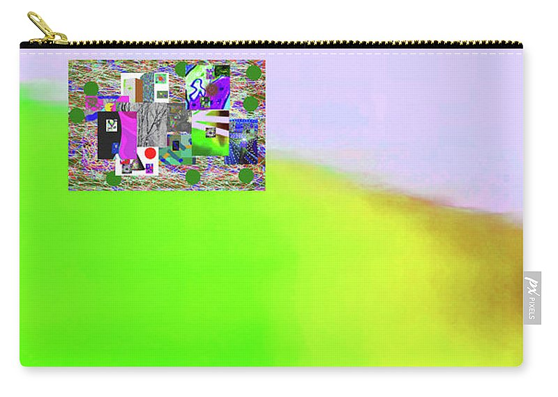Walter Paul Bebirian Carry-all Pouch featuring the digital art 10-31-2015ab by Walter Paul Bebirian