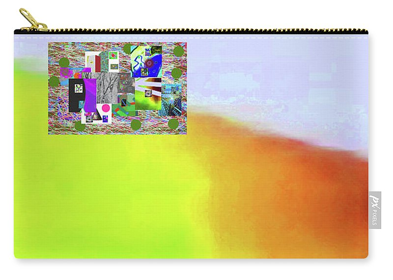 Walter Paul Bebirian Carry-all Pouch featuring the digital art 10-31-2015abcde by Walter Paul Bebirian