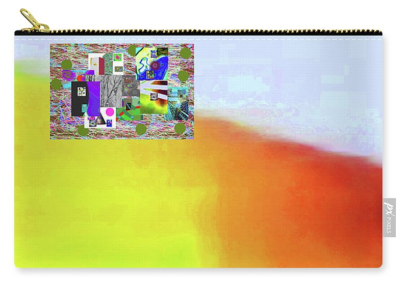 Walter Paul Bebirian Carry-all Pouch featuring the digital art 10-31-2015abcdef by Walter Paul Bebirian