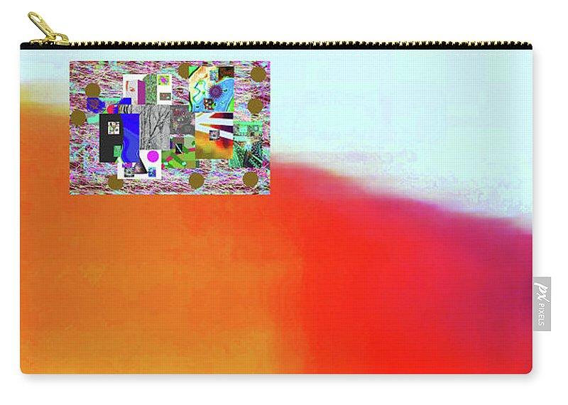 Walter Paul Bebirian Carry-all Pouch featuring the digital art 10-31-2015abcdefghi by Walter Paul Bebirian