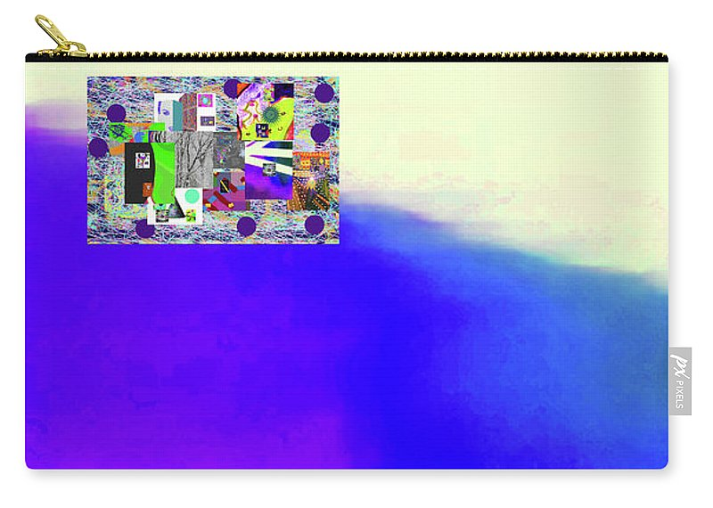 Walter Paul Bebirian Carry-all Pouch featuring the digital art 10-31-2015abcdefghijklmnopqrtuvw by Walter Paul Bebirian