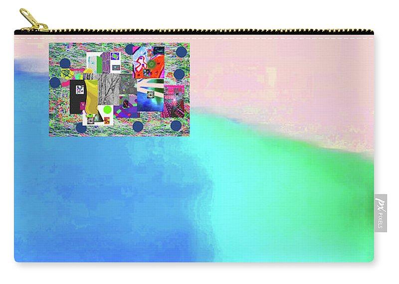 Walter Paul Bebirian Carry-all Pouch featuring the digital art 10-31-2015abcdefghijklmnopqrtuvwxyzabc by Walter Paul Bebirian