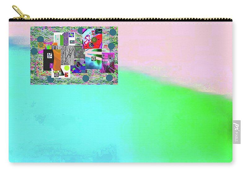 Walter Paul Bebirian Carry-all Pouch featuring the digital art 10-31-2015abcdefghijklmnopqrtuvwxyzabcde by Walter Paul Bebirian