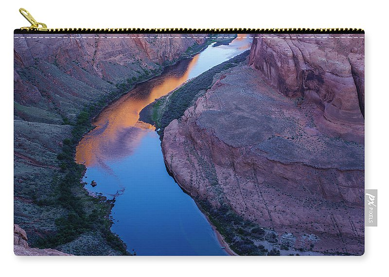 Tranquility Carry-all Pouch featuring the photograph Sand Stone Rock Formation In Sw Usa by Gavriel Jecan
