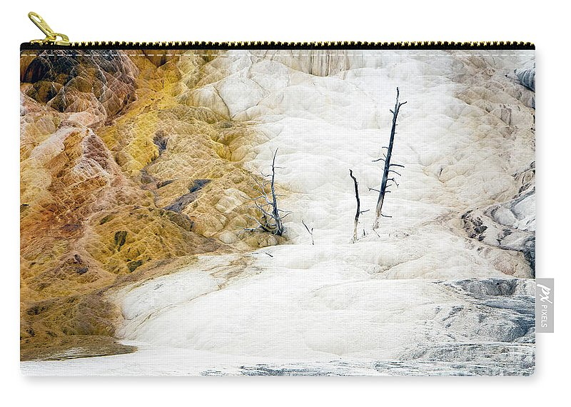 Mammoth Carry-all Pouch featuring the photograph 1474 Scorched Earth by Steve Sturgill