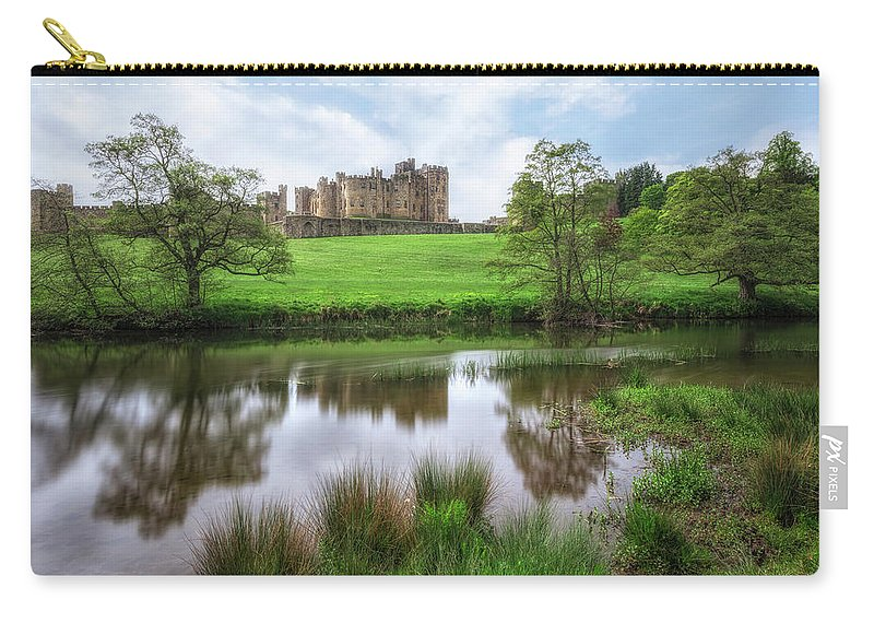 Alnwick Carry-all Pouch featuring the photograph Alnwick - England by Joana Kruse