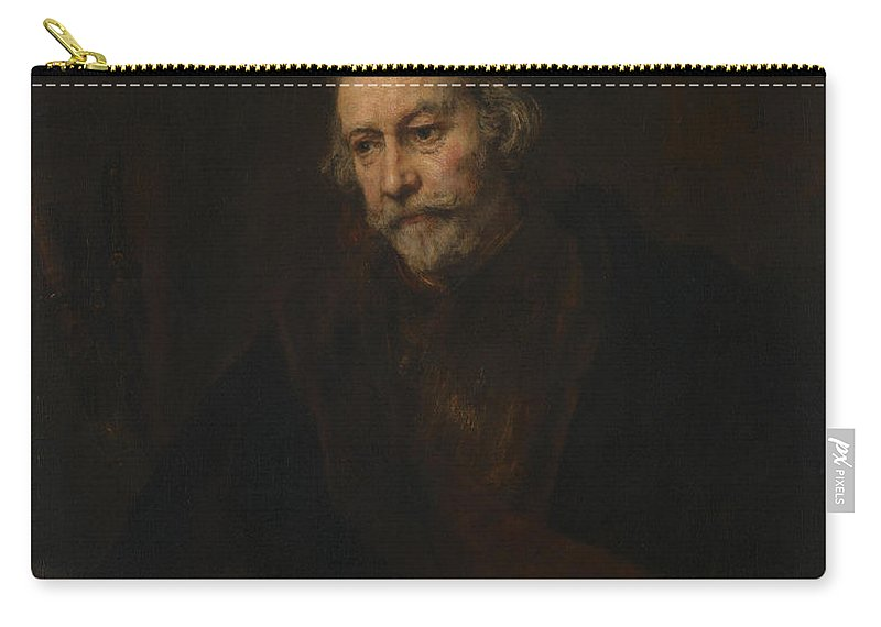 Rembrandt Carry-all Pouch featuring the painting An Elderly Man As Saint Paul by Rembrandt