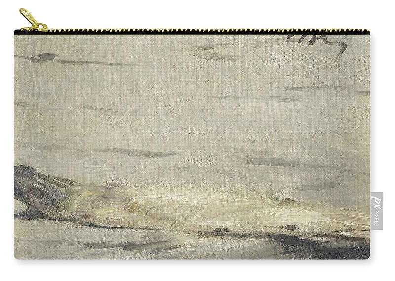 Edouard Manet Carry-all Pouch featuring the painting Asparagus by Edouard Manet