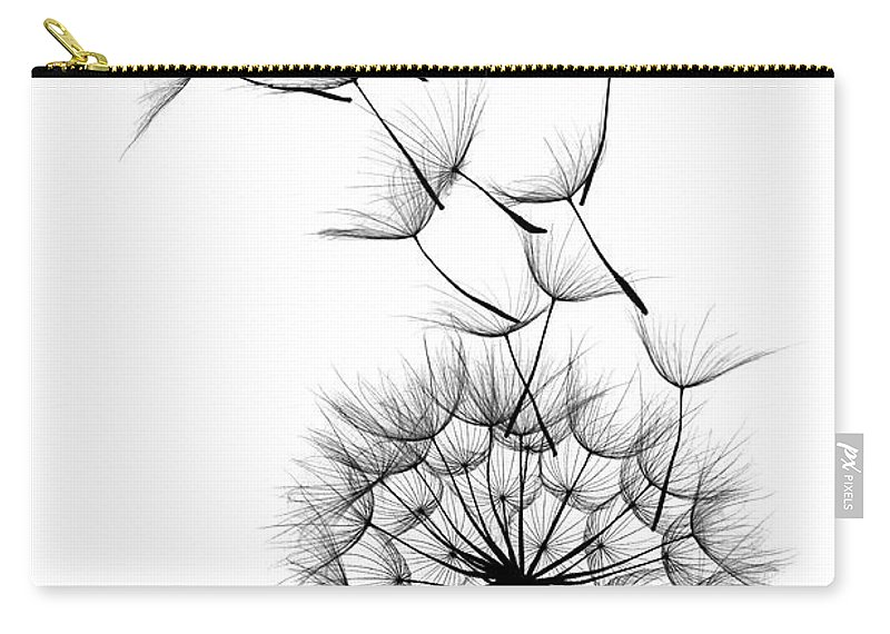 Wind Carry-all Pouch featuring the photograph Dandelion by Sunnybeach