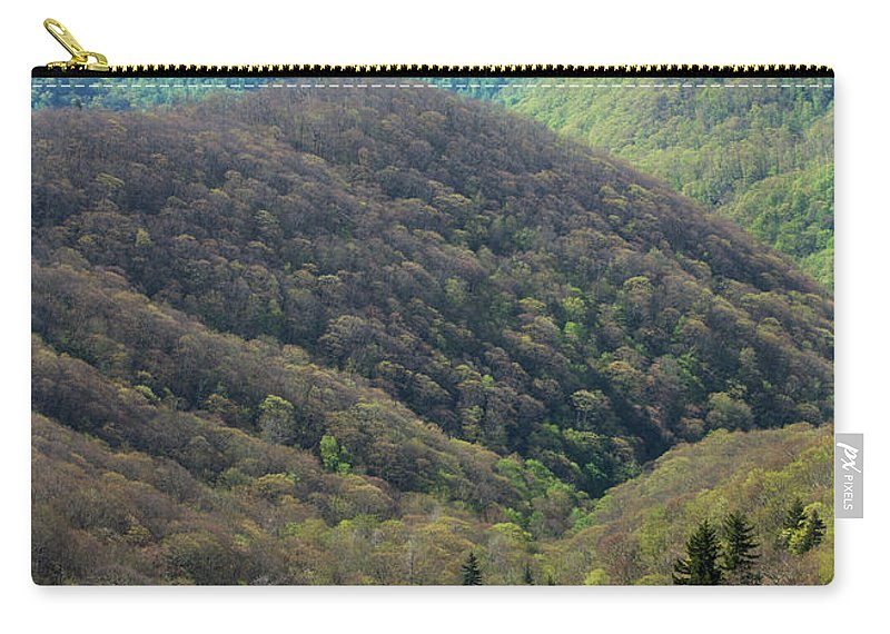 Scenics Carry-all Pouch featuring the photograph Early Spring, North Carolina by Jerry Whaley