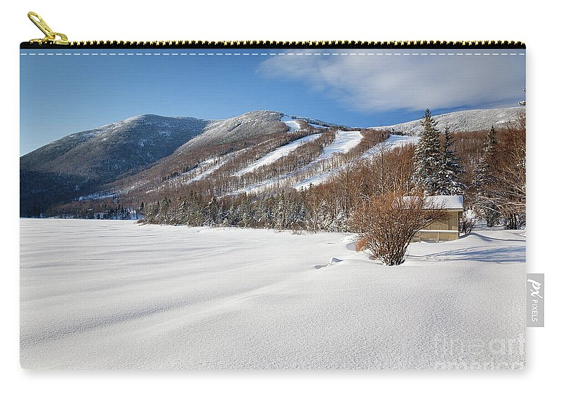 Franconia Notch State Park Carry-all Pouch featuring the photograph Cannon Mountain - White Mountains New Hampshire by Erin Paul Donovan