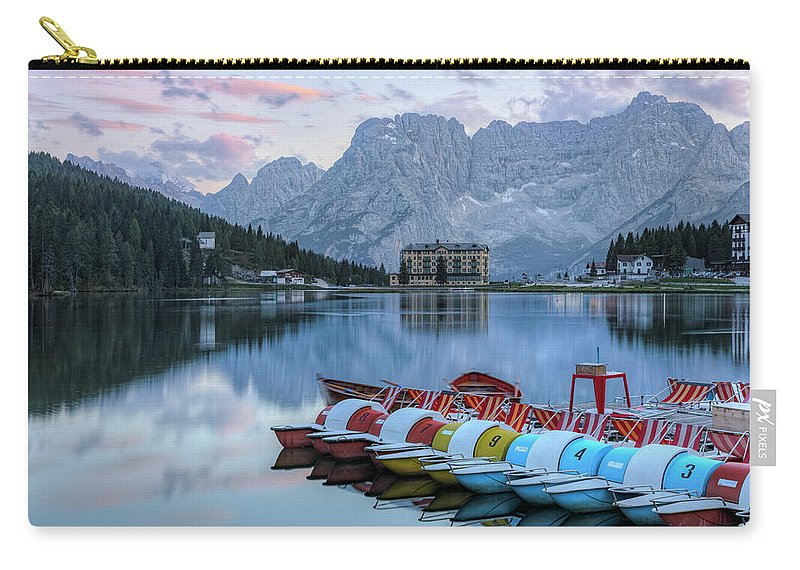 Misurina Carry-all Pouch featuring the photograph Misurina - Italy by Joana Kruse