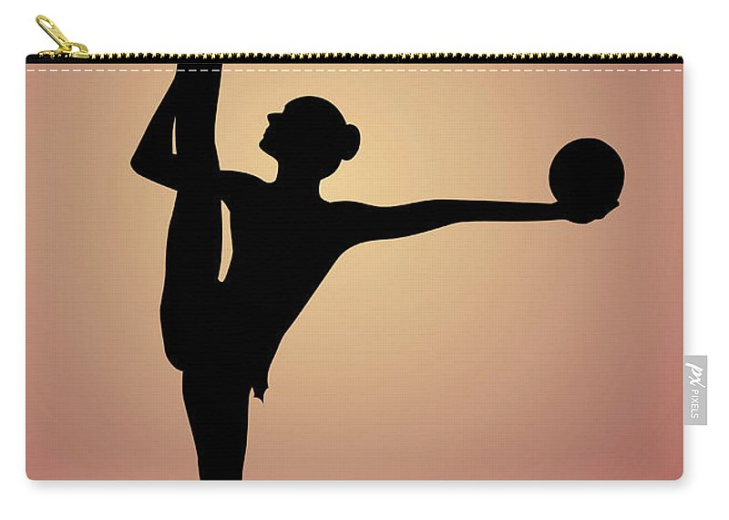 Working Carry-all Pouch featuring the digital art Moulding Art by Best View Stock