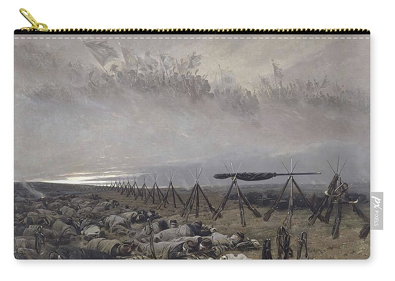 Edouard Detaille Carry-all Pouch featuring the painting The Dream by Edouard Detaille