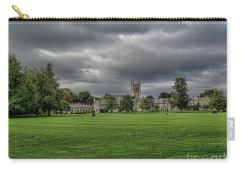 Cambridge Carry-all Pouch featuring the photograph The View by Simon Hill