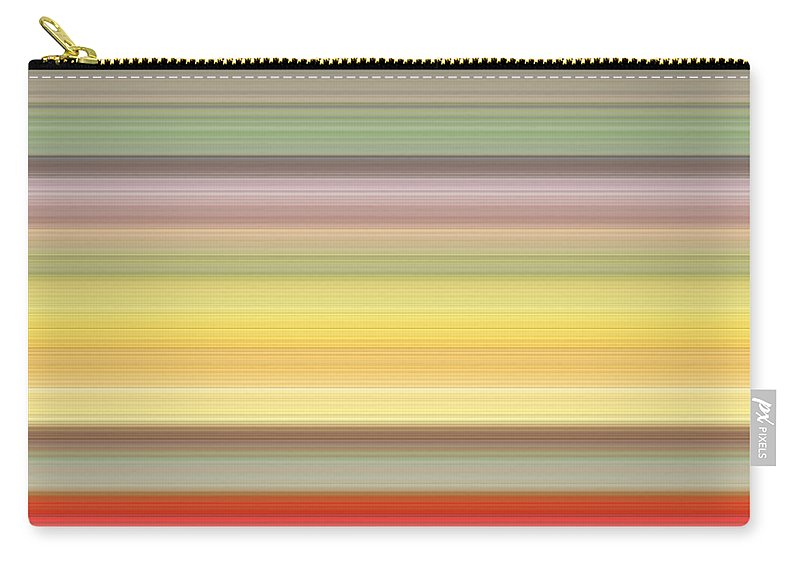 Colours Carry-all Pouch featuring the digital art Number Forty Three, 2017 by Alex Caminker