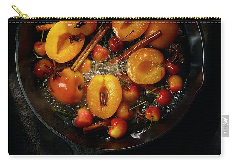 Cherry Carry-all Pouch featuring the photograph Food by Brian Macdonald