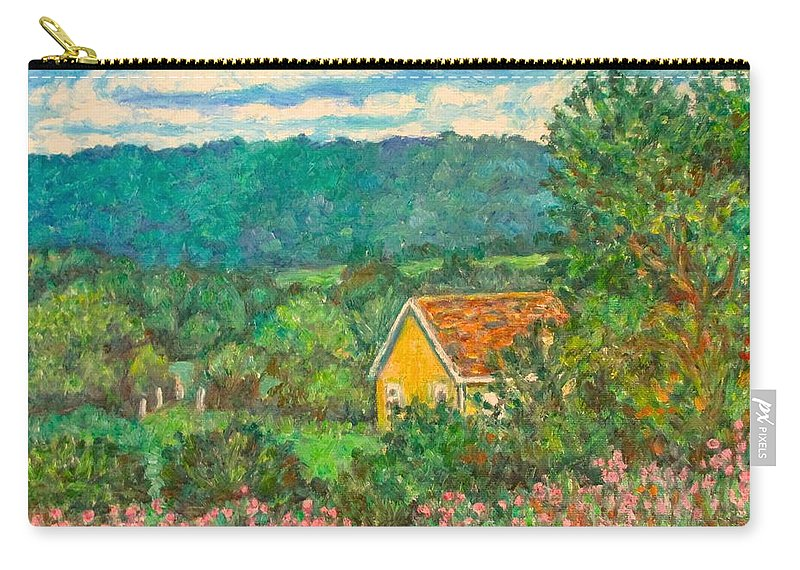 Landscape Carry-all Pouch featuring the painting 460 by Kendall Kessler