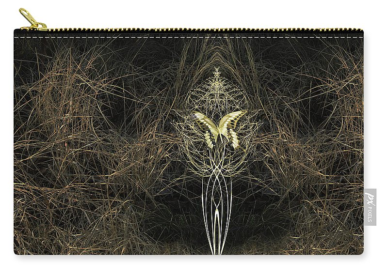 Butterfly Carry-all Pouch featuring the photograph 4759 by Peter Holme III