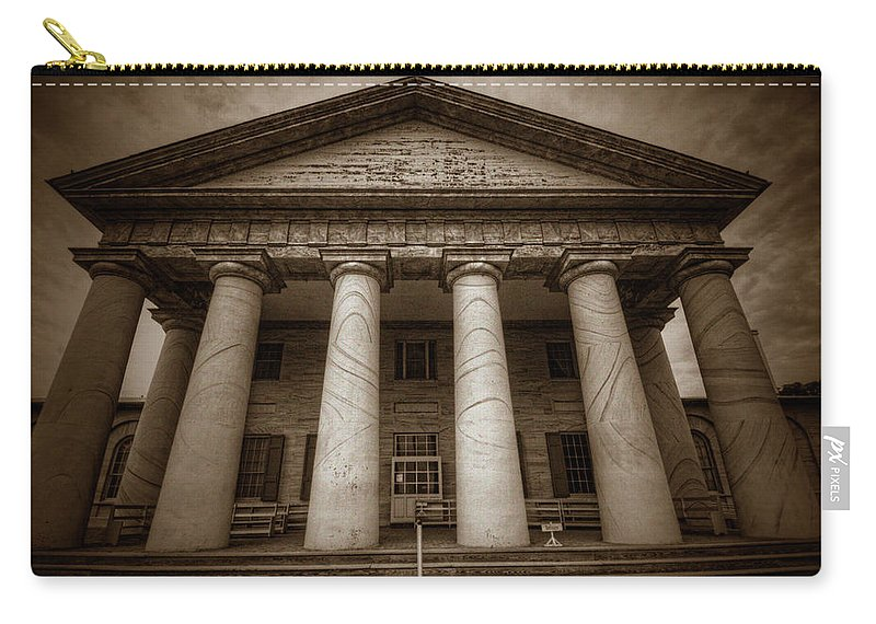 Craig Fildes Photography Carry-all Pouch featuring the photograph Arlington House by Craig Fildes