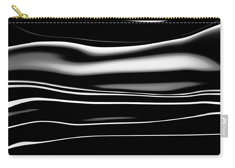 Black Color Carry-all Pouch featuring the photograph Abstract by Getty Images