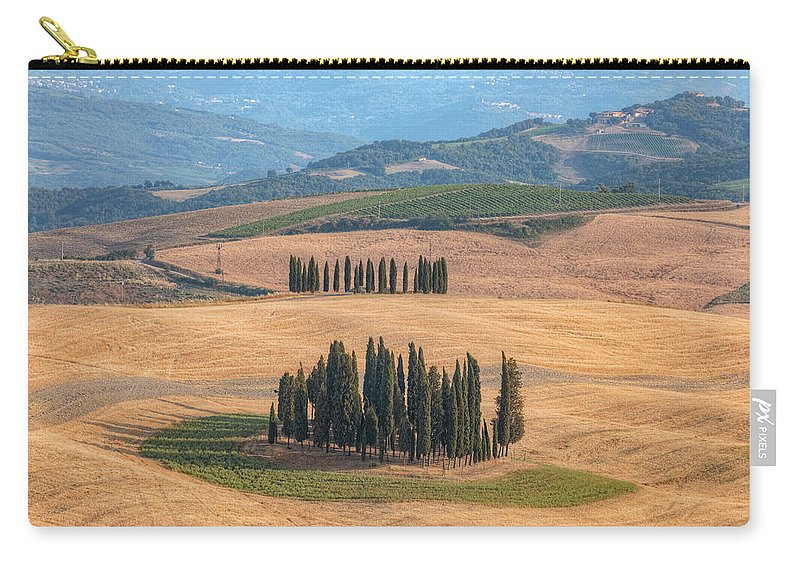 San Quirico Carry-all Pouch featuring the photograph Tuscany - Italy by Joana Kruse