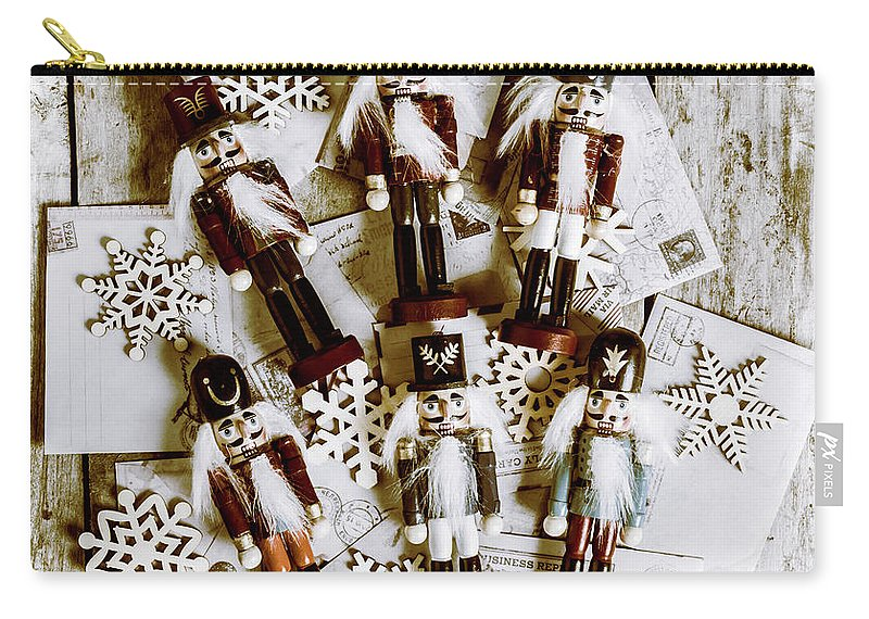 Christmas Carry-all Pouch featuring the photograph A Cracker Christmas by Jorgo Photography - Wall Art Gallery