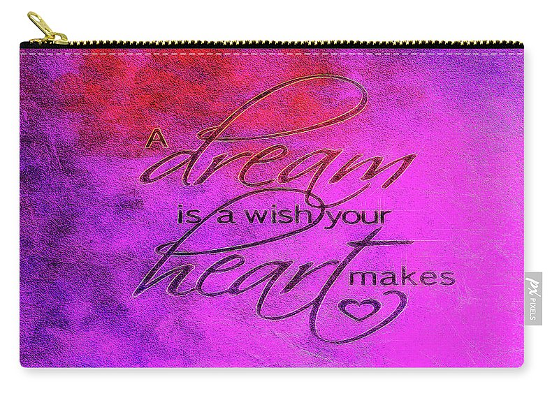 Dream Carry-all Pouch featuring the photograph A Dream Is A Wish by Jennifer Stackpole