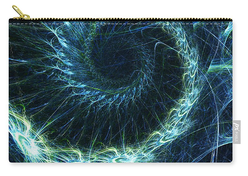 Curve Carry-all Pouch featuring the photograph Abstract Swirl Pattern by Duncan1890