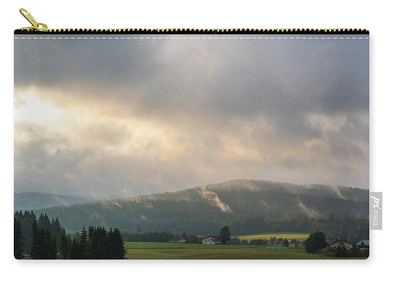 Landscape Carry-all Pouch featuring the photograph After The Storm by Roland Spilak