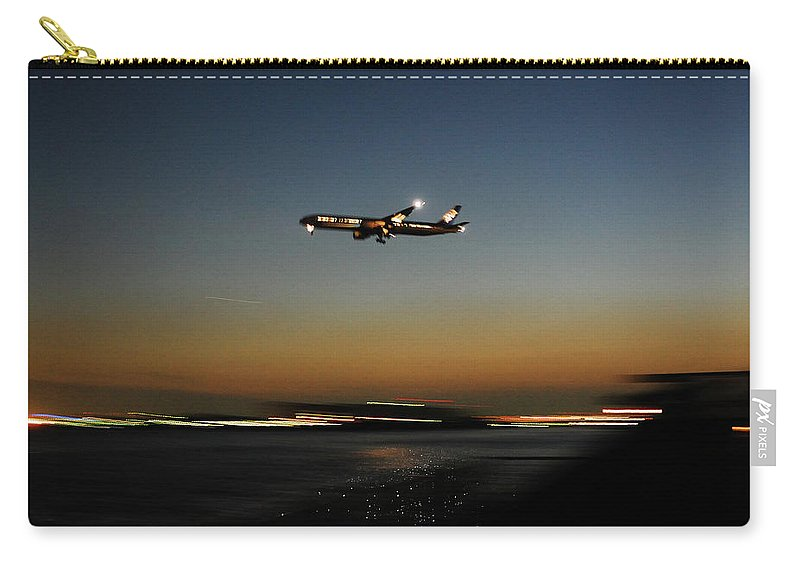 Outdoors Carry-all Pouch featuring the photograph Airplane by Takeshi.k