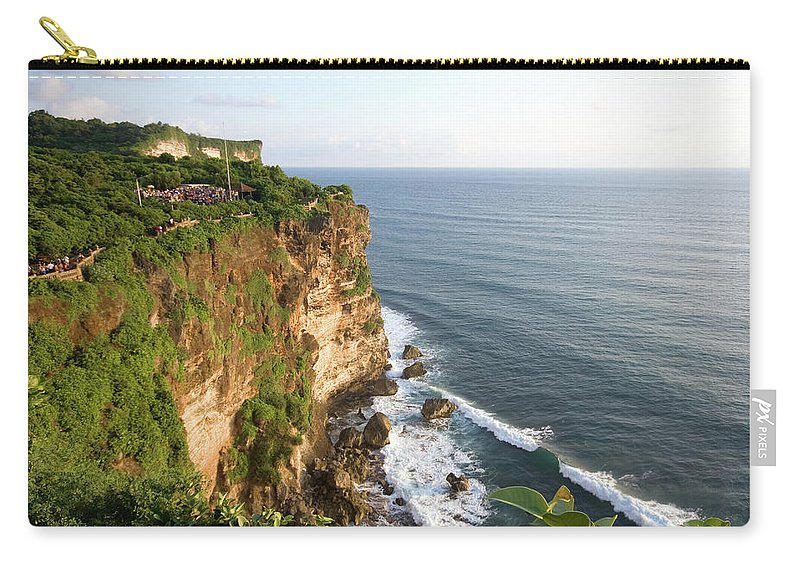 Scenics Carry-all Pouch featuring the photograph Amazing Views At Uluwatu, Bali by Tuomas Lehtinen