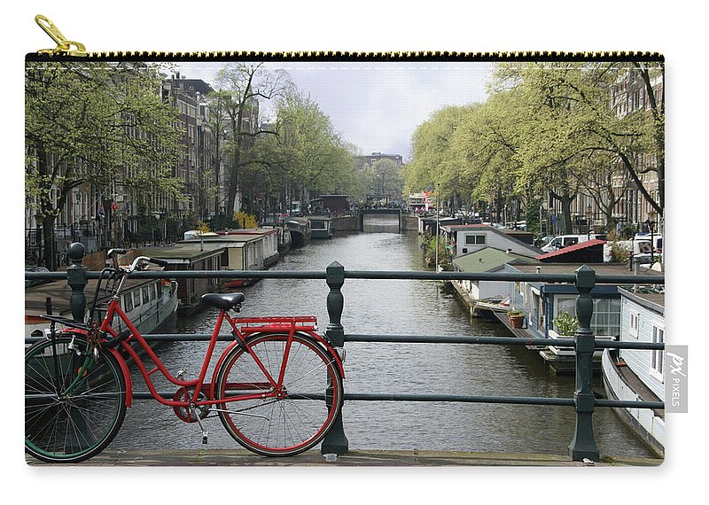 Row House Carry-all Pouch featuring the photograph Amsterdam City Scene by W-ings