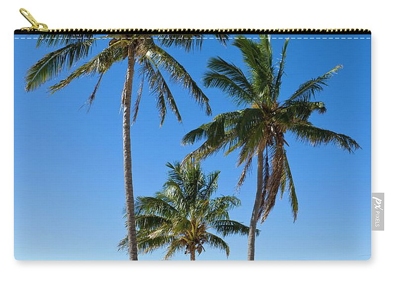 Scenics Carry-all Pouch featuring the photograph Anakena Beach, The Islands White Sand by Gavin Hellier / Robertharding