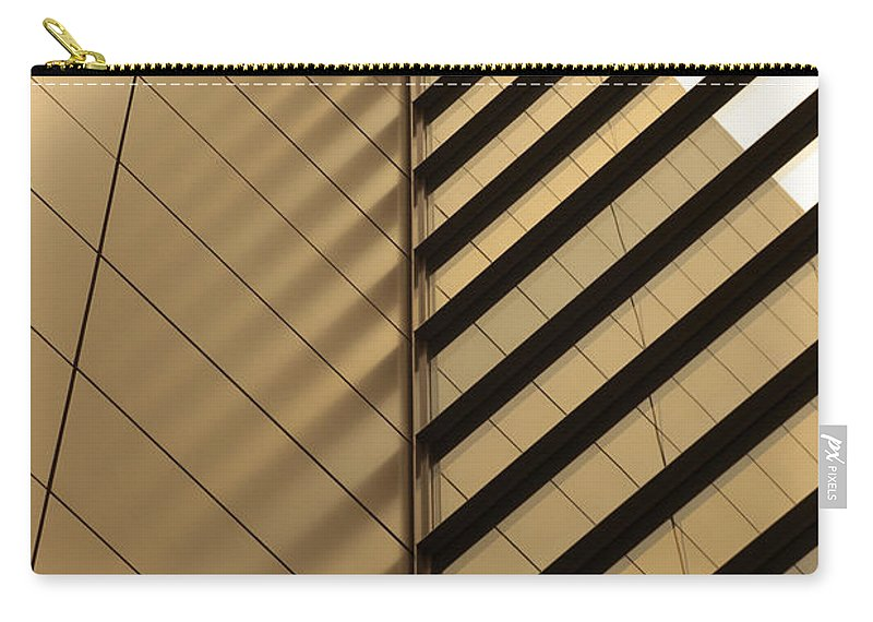 Architectural Feature Carry-all Pouch featuring the photograph Architecture Reflection by Tomasz Pietryszek