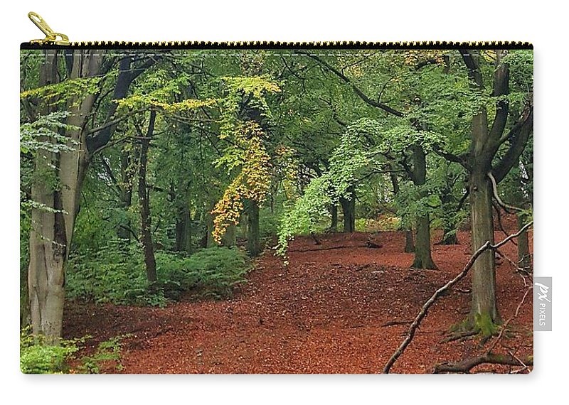 Autumn Carry-all Pouch featuring the photograph Autumn Blanket by Daniel McNamara