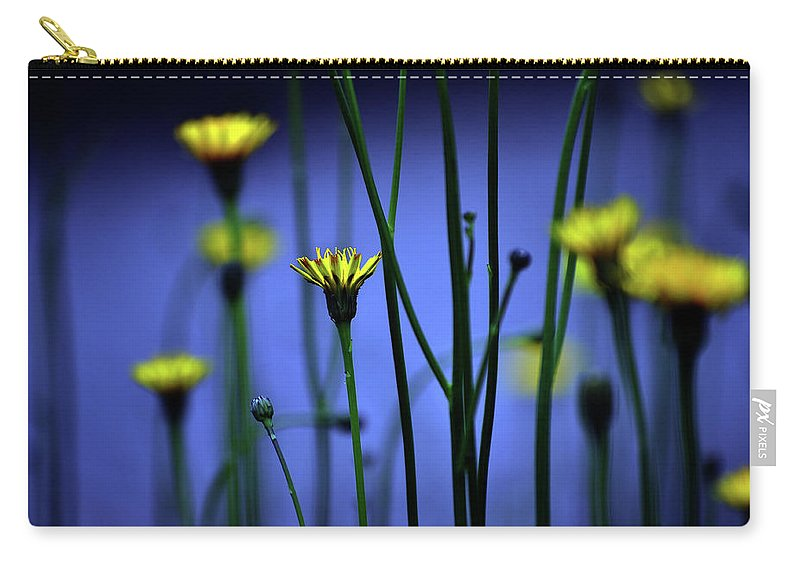Outdoors Carry-all Pouch featuring the photograph Avatar Flowers by Mauro Cociglio - Turin - Italy