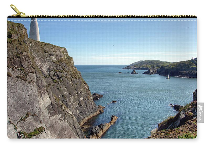 Tranquility Carry-all Pouch featuring the photograph Baltimore Beacon by Keith Marshall