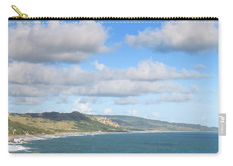 Scenics Carry-all Pouch featuring the photograph Bathsheba Bay, Barbados by Michele Falzone