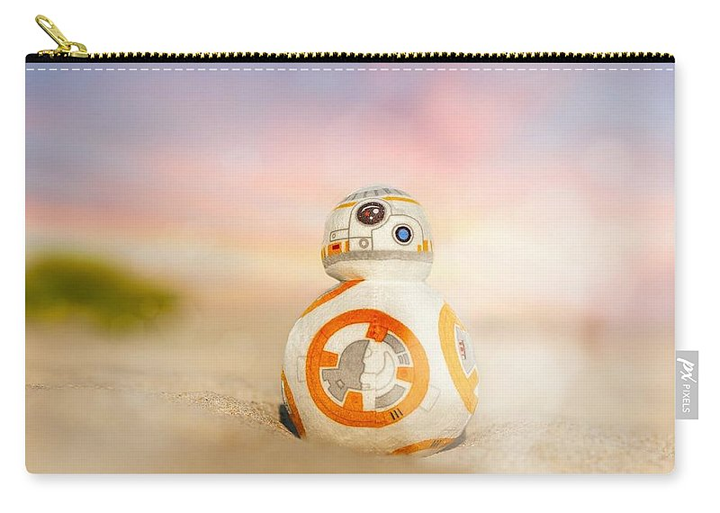 Star Wars Carry-all Pouch featuring the photograph BB8 by Hsin Cheu