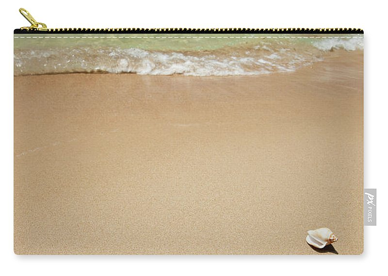 Empty Carry-all Pouch featuring the photograph Beach by Ugurhan