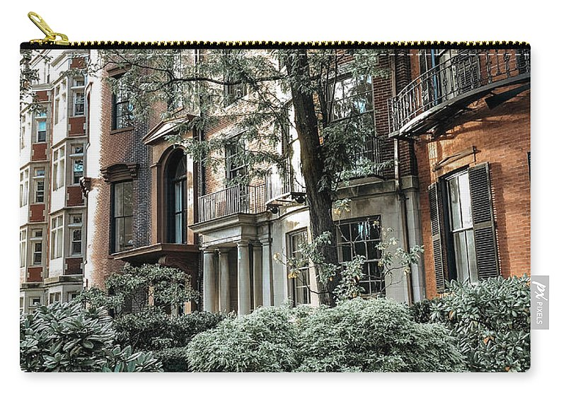 Boston Carry-all Pouch featuring the photograph Beacon Hill by Susan Garver