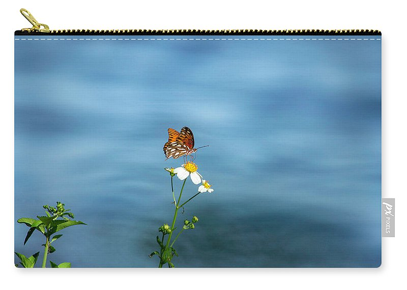 Beautiful Butterfly Carry-all Pouch featuring the photograph Beautiful Butterfly by Robert Anderson
