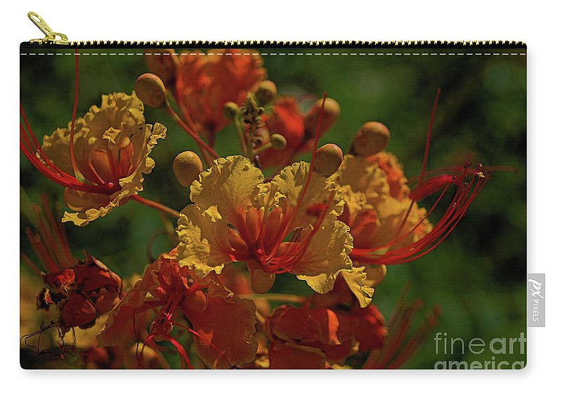 Flower Carry-all Pouch featuring the photograph Blooming Away by Darryl Treon