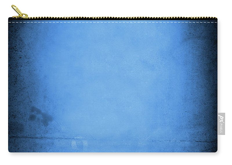 Burnt Carry-all Pouch featuring the photograph Blue Drama by Thepalmer